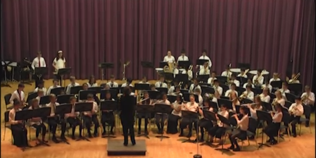 Mill Pond 5th and 6th Grade Band Performance