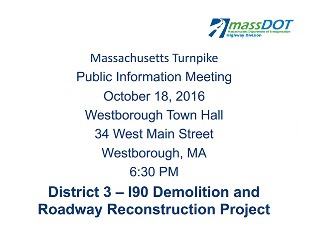 Last Cash on Mass Pike Today – Mass DOT Outlines Demolition