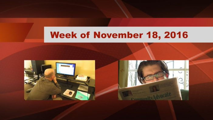 Westborough Weekly Wrap Up – November 18, 2016
