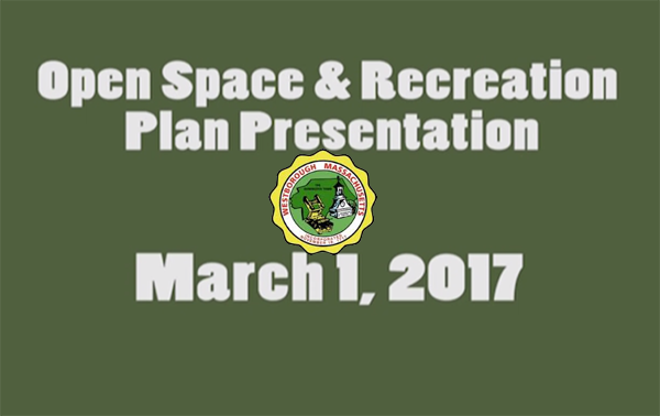 Open Space and Preservation Plan Presentation – March 1, 2017