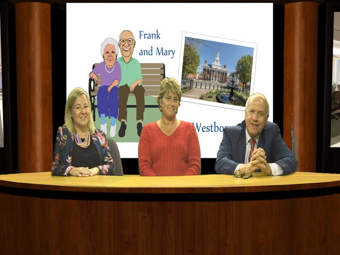 Frank and Mary in Westborough – Rep. Danielle Gregoire