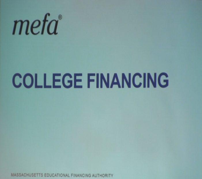 MEFA College Financing Night WHS 2018