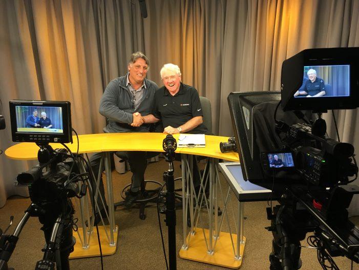 """On the Sidelines"" Paul McGrath Interviews Peter Casparriello"