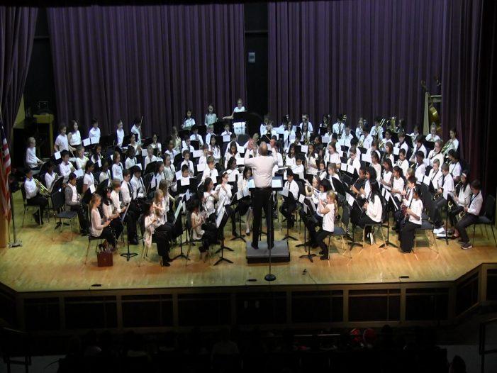 5th Grade Band Winter Concert 12-20-18