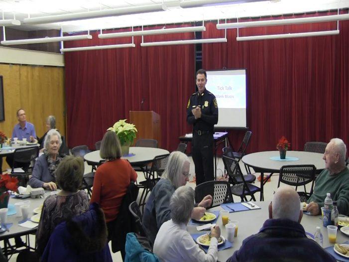 Breakfast with the Chief: Tick Talk w/ Mark Blazis 1-4-19
