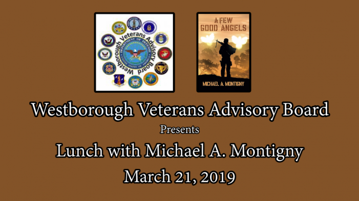 Veterans Lunch with Author Mike Montigny