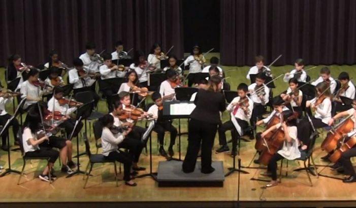 Mill Pond Spring String Concert 2019