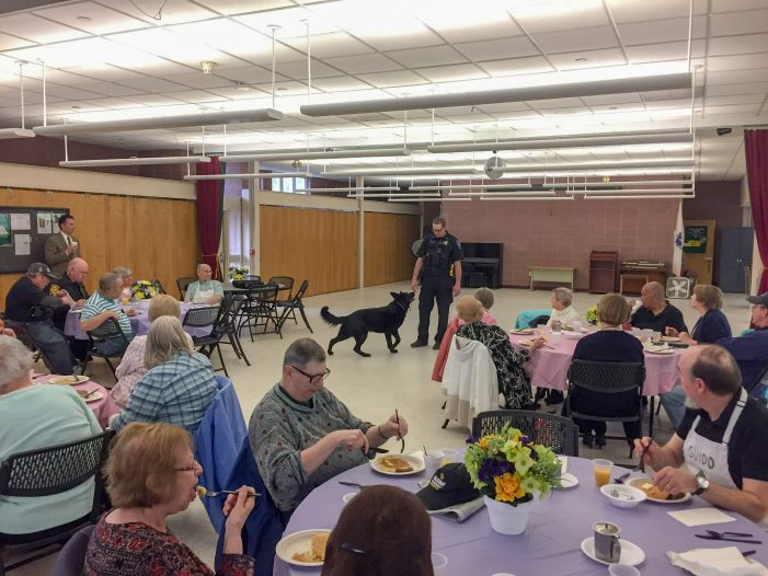 Breakfast with the Chief – May 2019 – K9 Unit – Lukas