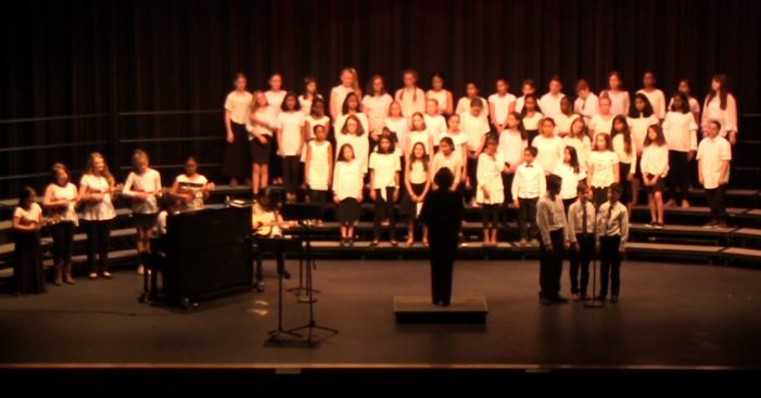 Mill Pond's 5th and 6th Grade Spring Chorus Concert