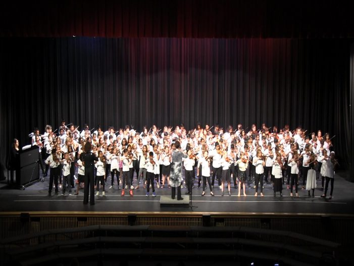 All Elementary Spring Strings Concert 2019
