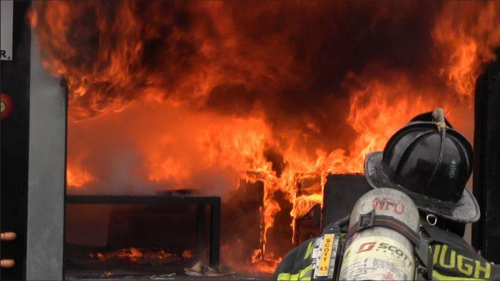 Westborough Fire – NFSA Sprinkler Demonstration