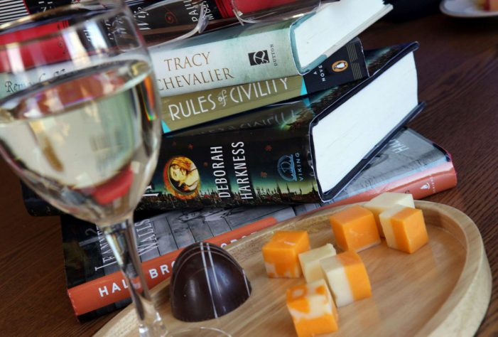Books in Bloom Wine and Cheese Reception 9/5/19