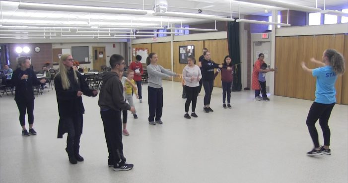 Unified Dance at the Senior Center!