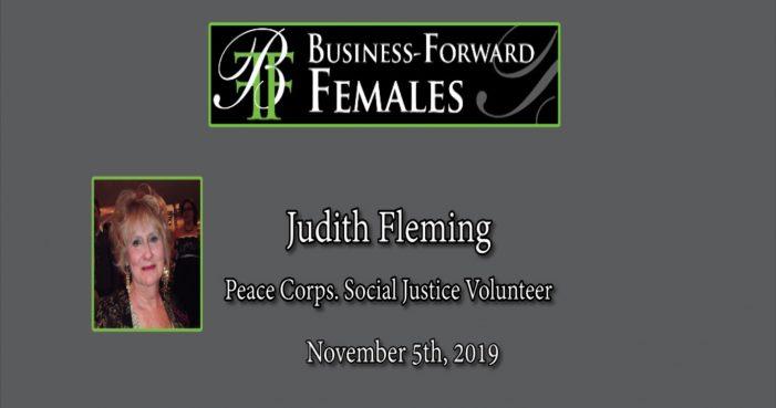 Corridor 9/495 Chamber BFF Speaker: Peace Corps Volunteer Judith Fleming