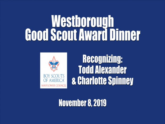 Good Scout Awards Go to Todd Alexander & Charlotte Spinney