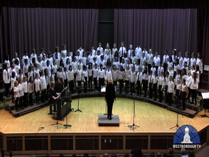 Winter Concert: Mill Pond 4/5/6 Grade Choruses
