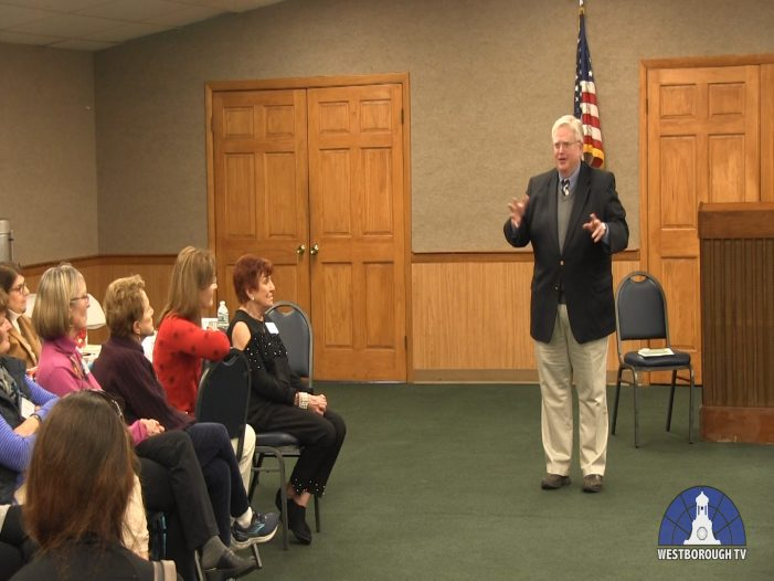 Westborough Women's Club Meeting with Andy Davis