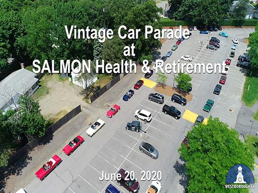 Antique Car Parade at SALMON Health & Retirement
