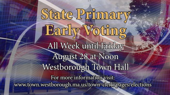 Early Primary Voting Still an Option!