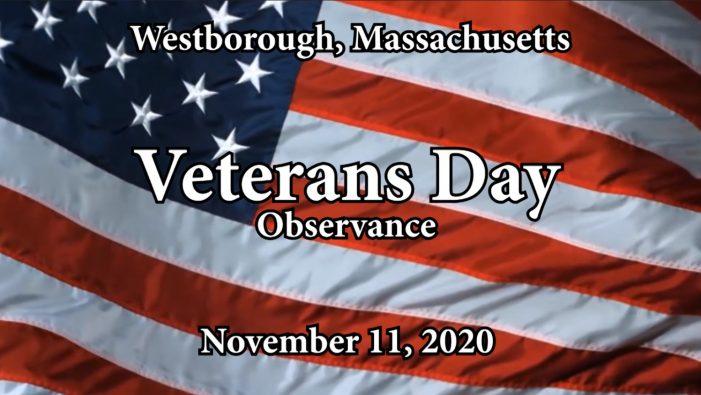 Westborough Veterans Day Observance