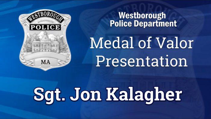 Medal of Valor – Sgt. Jon Kalagher