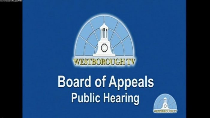 LIVE Zoning Board of Appeals Hearing 2/1 at 7:30pm
