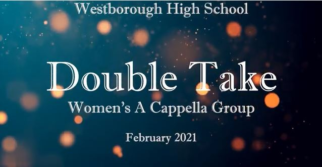 """WHS A Cappella Group """"Double Take"""" Performs"""