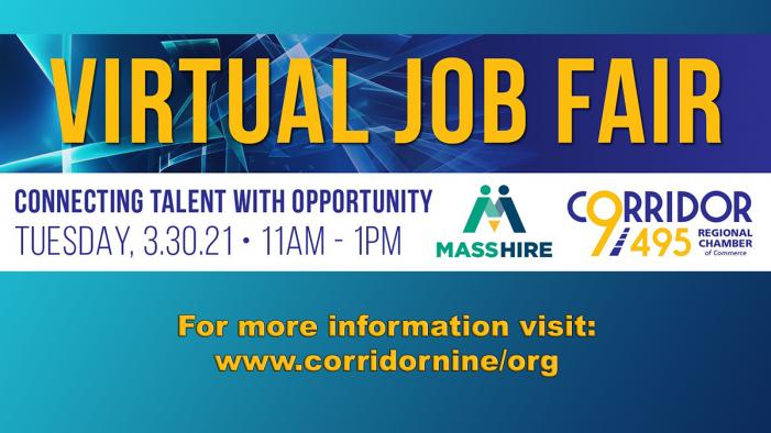 Virtual Job Fair on 3/30/21!