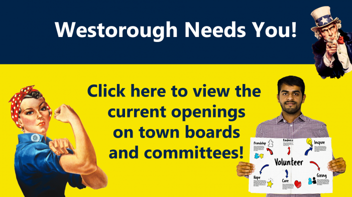 Your Town Needs You!