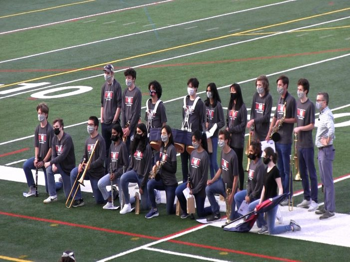 Ranger Marching Band Family Performance