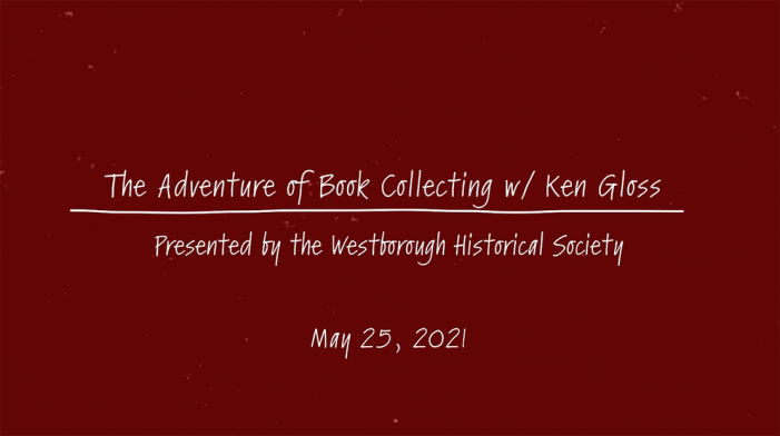 The Adventure of Book Collecting w/ Ken Gloss