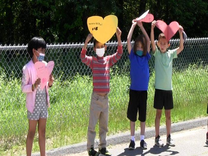 Hastings 3rd Grade Send Off Parade & Luau