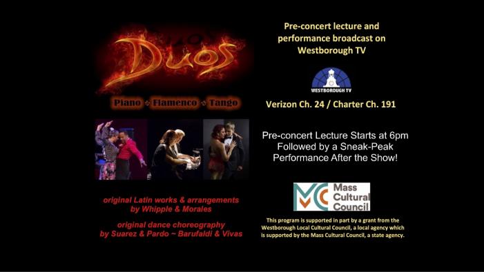 DUOS – Piano / Flamenco / Tango! Pre-Concert Lecture Tonight @ 6PM!