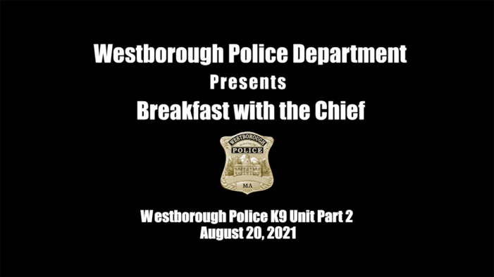 Breakfast with the Chief – K9 Unit Pt 2