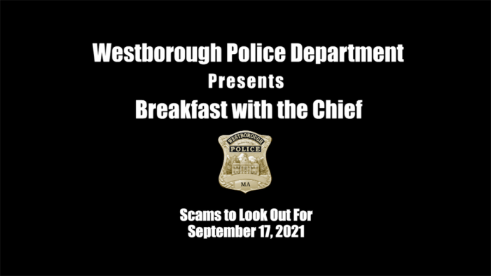 Breakfast with the Chief – September 2021