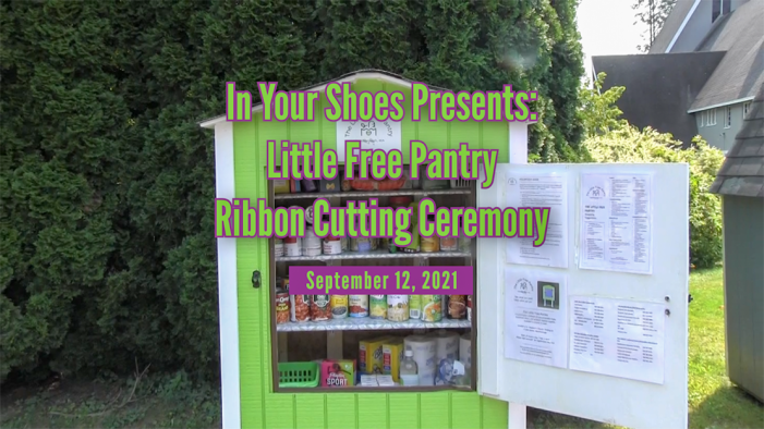Little Free Pantry – Ribbon Cutting Ceremony