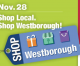 Shop Local Westborough! Small Biz Saturday!