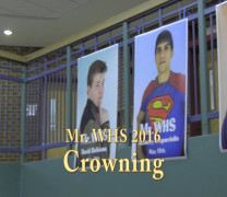 Crowning of Mr. WHS 2016