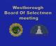 Westborough Board of Selectmen – October 9, 2018