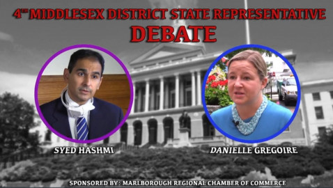 4th Middlesex District Debate – Gregoire v Hashmi