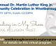Westborough's 3rd Annual Dr. Martin Luther King, Jr. Community Celebration