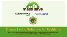 Energy $aving Solutions for Residents – Mass Save