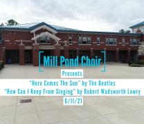 Mill Pond Choir Mini Concert!