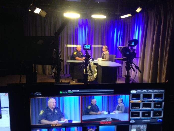 In The Studio With Police Report