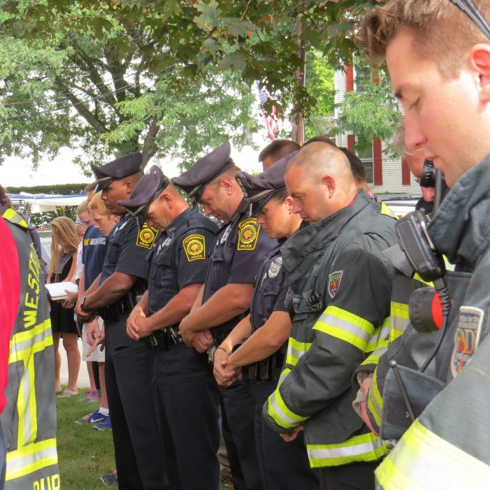 Westborough's September 11th Ceremony in Pictures