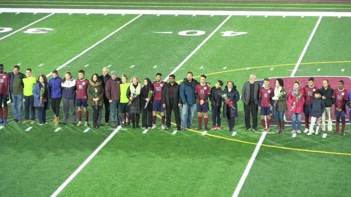 Boys Soccer vs Bromfield Full Game and Highlights (Senior Night) 10-26-18