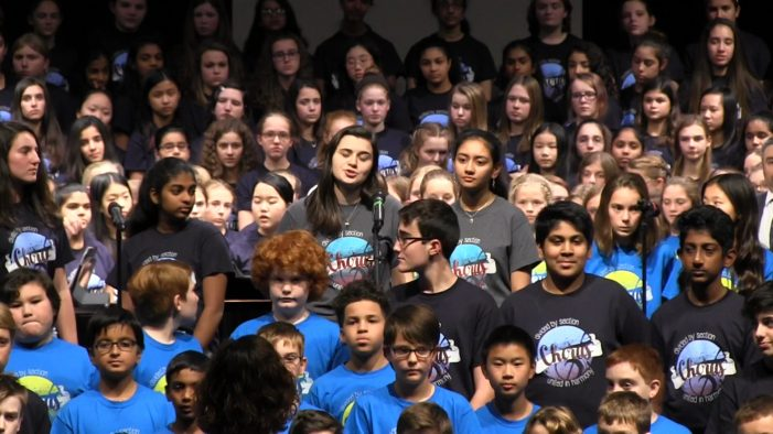 """Westborough Choral Collage Concert: """"This is Me"""" Performance 2018"""