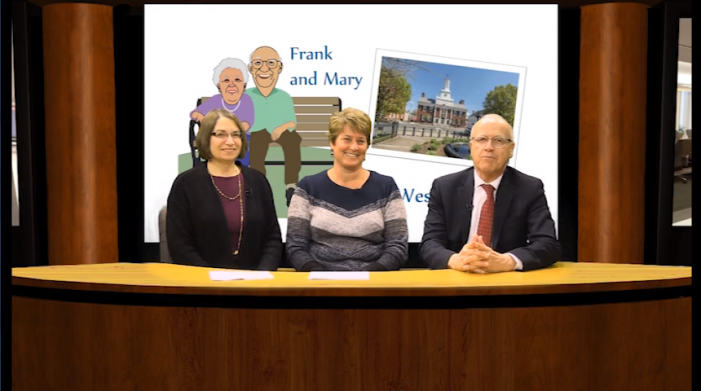 Frank and Mary in Westborough – Town Library