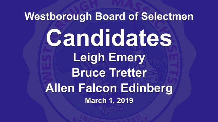 Candidates 2019 – Board of Selectmen