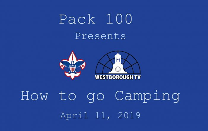 How to go Camping with Pack 100